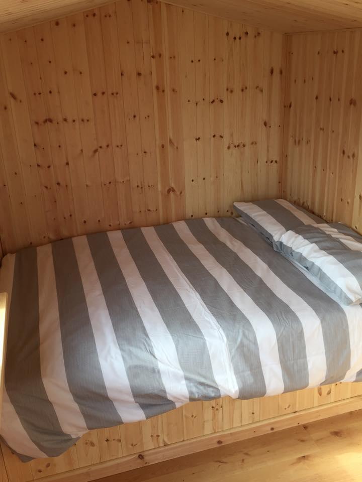 Photo of Shepherds Huts  double bed in shrewsbury, Shropshire