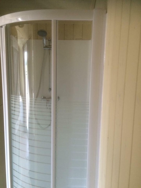 Photo of Shepherd Hut's Shower.