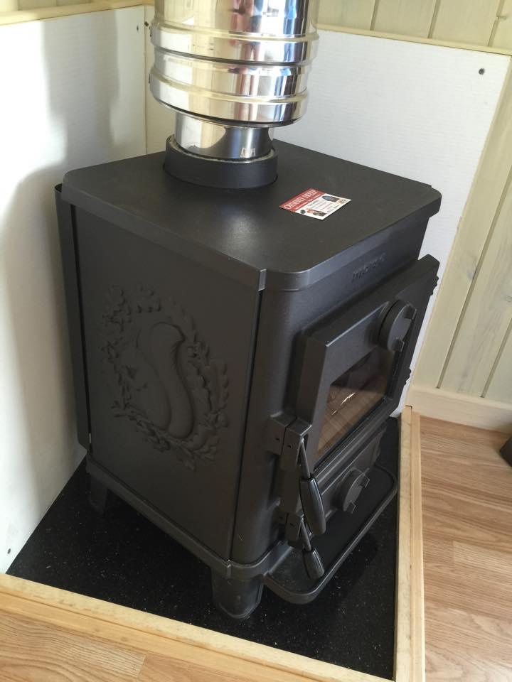 Photo of Shepherds Huts  oil burner
