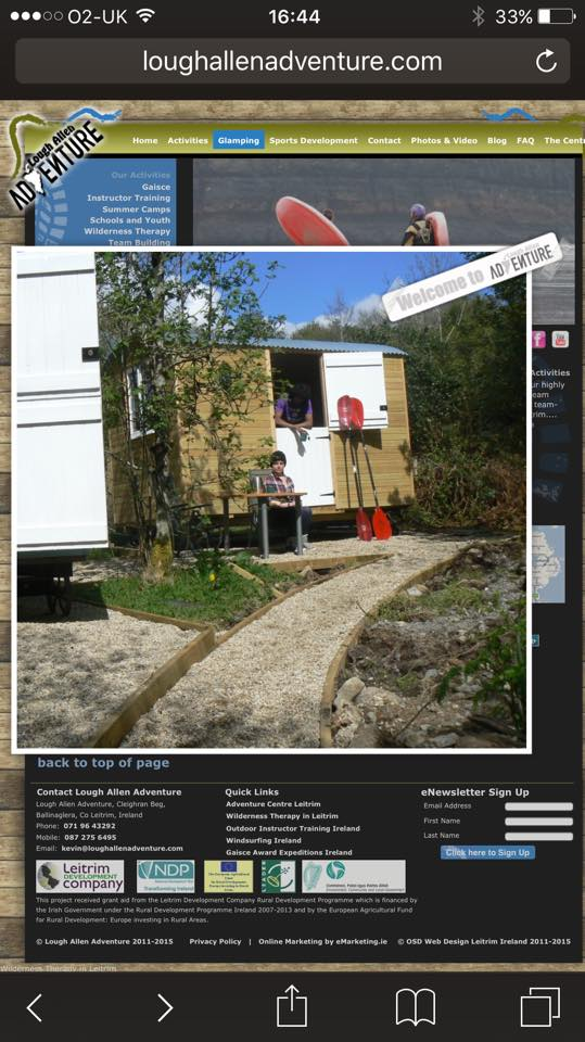 This is the second shepherds huts testimonials for our pods.